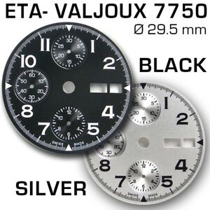 DIAL-FOR-MOVEMENT-ETA-VALJOUX-7750-29-5-mm-DAY-DATE-BLACK-OR-SILVER