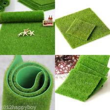 Artificial Grass Fake Lawn Miniature Fairy Garden Decoration Craft Make DIY15*15