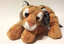 "Ark Toys Premier Collection 7"" Lying Tiger w/Beans Plush K175"