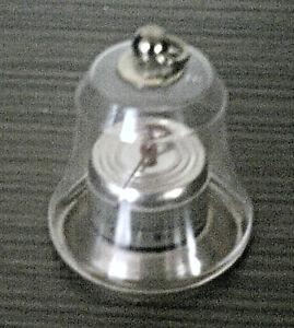 3.94 inch Original 1950s Antique Vintage Bimetal Thermometer C Brass Ring