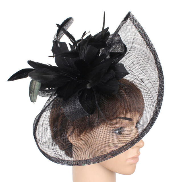 cedfaaffa71 Large Headband Aliceband Hat Fascinator Weddings Ladies Day Race Royal Ascot  for sale online