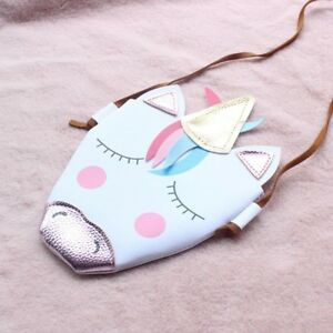 Kids-Girls-Unicorn-Messenger-Shoulder-Bag-Crossbody-Purse-Wallet-Handbag-Cute