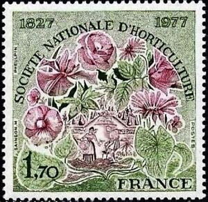 FRANCE-STAMP-TIMBRE-N-1930-034-SOCIETE-HORTICULTURE-1F70-034-NEUF-xx-LUXE