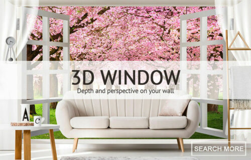 show original title Details about  /3D Forest Kitz M1698 Wallpaper Wall art Self Adhesive Removable Sticker Amy