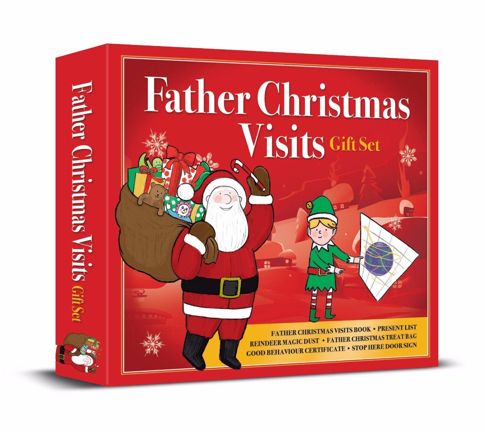 Father Christmas Gift Set Present List Reindeer Dust Ive Been Good ...