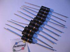 Resistor 2W 51 Ohm 51R 5% Carbon Composition - NOS Qty 10