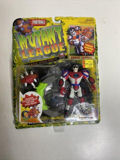 Vintage 1994 Mutant League Football Bones Justice Galoob Figure NEW
