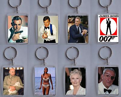 Daniel Craig James Bond Keyring Bag Tag *Great Gift*