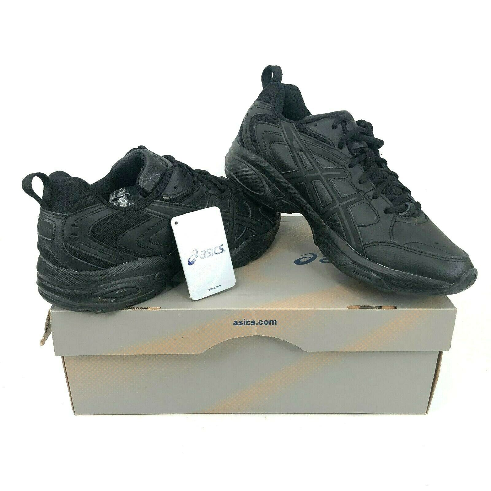 Vintage Asics Gel TRX S923L Atlético De Cuero negro Cruz entrenador Zapatos para hombre 10.5