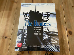 juego wargame - THE HUNTERS - GMT - WWII - Precintado