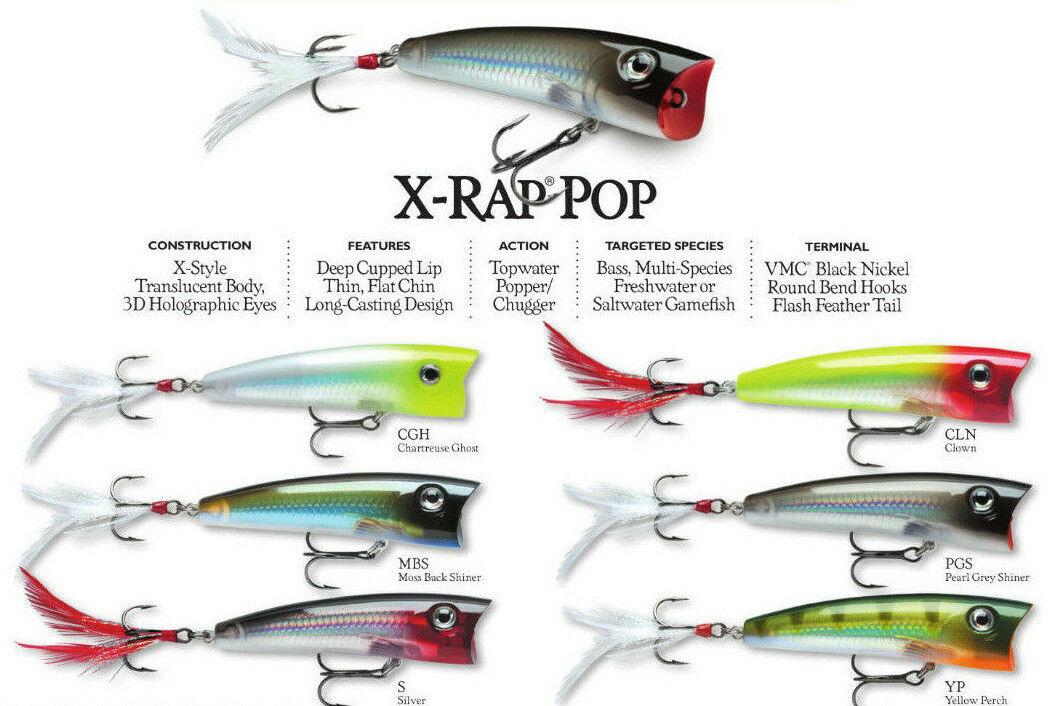 RAPALA X RAP POP 7 CM POPPER MBS