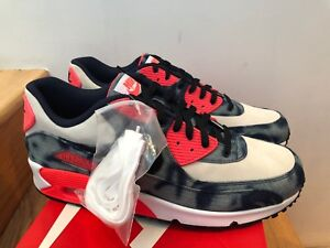 best website fc1ad 1681a Image is loading Nike-Air-Max-90-DNM-QS-Denim-Infrared-