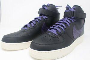 dbb5d659a6bfee Nike Air Force 1 High  07 LV8 Black Court Purple Sail 806403-014 ...