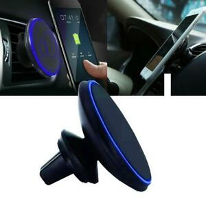 360-Car-Mount-Qi-Wireless-Fast-Charger-Magnetic-Holder-For-Samsung-iPhone-Access