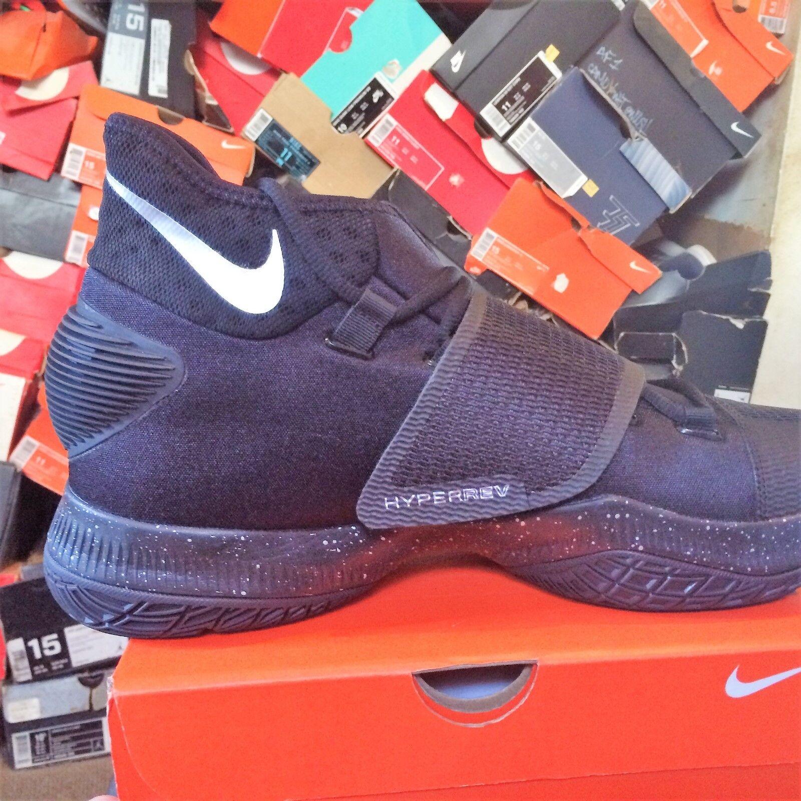 Nike Zoom hyperrev 2018 bnib tamaño BLK / BLK 820224 / SIL / blanco 820224 BLK 001 2f4de9