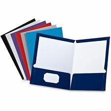 TOPS Products Laminated Portfolio 2-Pocket Ltr Assorted 51730