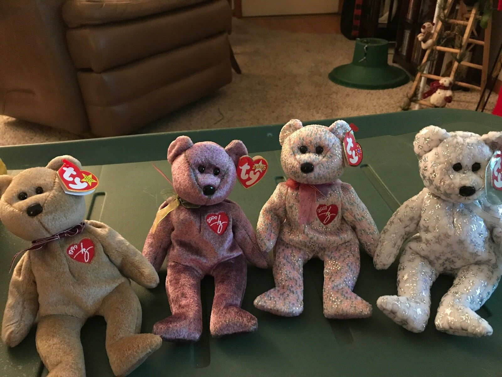 Ty Beanie Baby Signature Bears - 1999, 2000, 2001, And The Beginning Bear