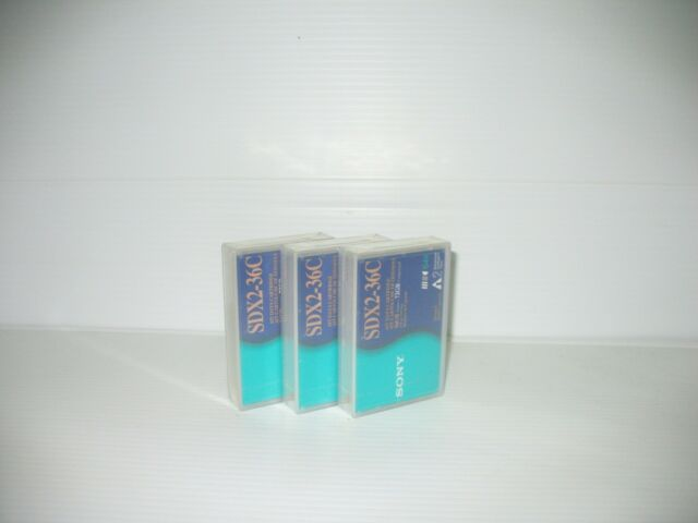NEW Sealed 3-pack SONY Tape AIT Data Tape Cartridge SDX2-36C AIT-2 72Gb