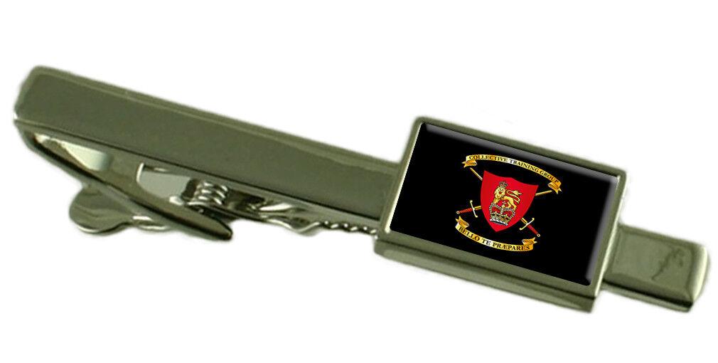 Militare Collettivo Collettivo Collettivo Formazione Gruppo Fermacravatta Inciso 57fd4c
