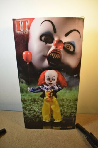 Mezco Living Dead Dolls Presents Pennywise It The Movie Figure//Doll Entièrement neuf dans sa boîte