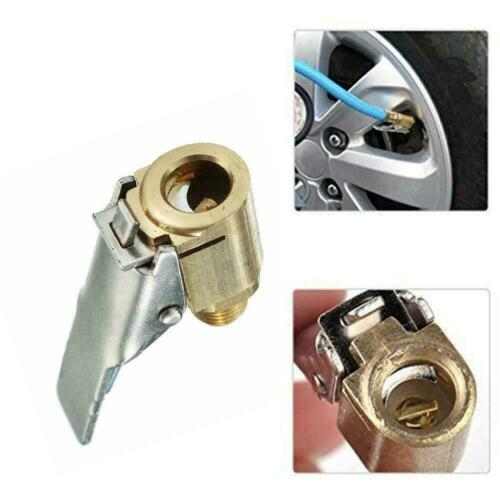 8MM Car Air Pump Nozzle Adapter Truck Tire Inflator Head Valve Clip Connect L0Z0