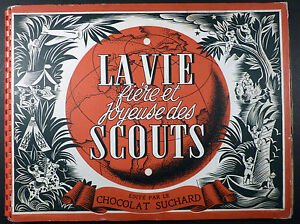 JOUBERT Scouts Album de vignettes Suchard TBE