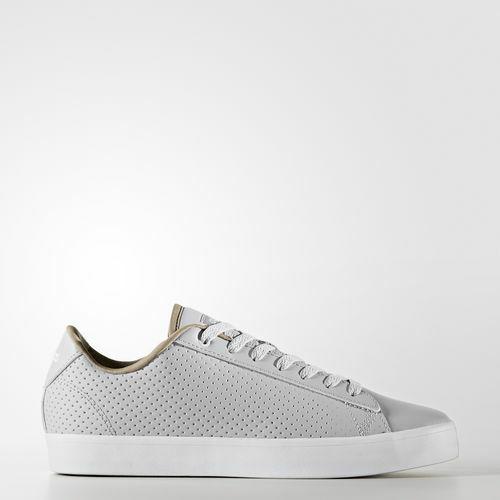 Adidas Neo CF Daily QT CL W Damen Turnschuhe Leder grau Gr 3,5 - 8
