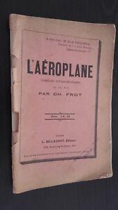 L'Aeroplane Ch. Frot Comedia En 1 Acto Ed. Billaudot Eparis ABE