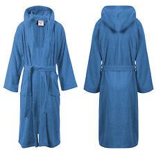 item 5 Ladies Mens Womens 100% Cotton Hooded Bath Robe Terry Towelling  Dressing Gown -Ladies Mens Womens 100% Cotton Hooded Bath Robe Terry  Towelling ... 7ff5b34a5