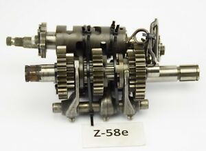 Honda-XL-200-L-MD06-Bj-84-Getriebe-komplett