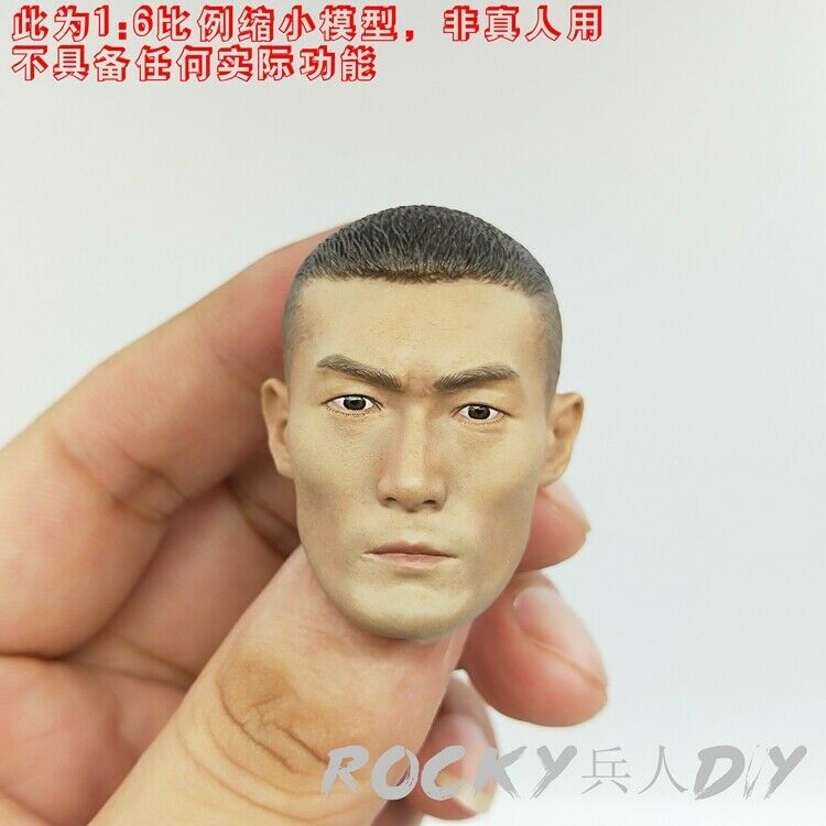Head Sculpt for DAM DMS007 Operation rosso Sea  JIAO  lungo  PLA Gunner 1 6 Scale  vendita calda online