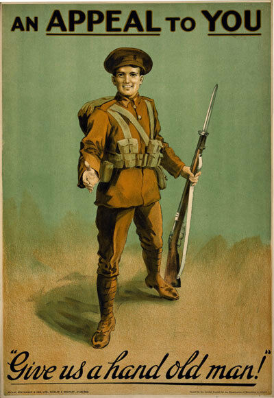 WA46 Vintage WWI Irish Appeal To You War Recruitment Poster Print WW1 A1 A2 A3