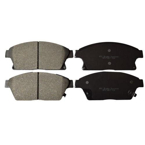 Ceramic Disc Brake Pad FRONT REAR Fits Buick Encore Verano Trax Volt 1467-1468