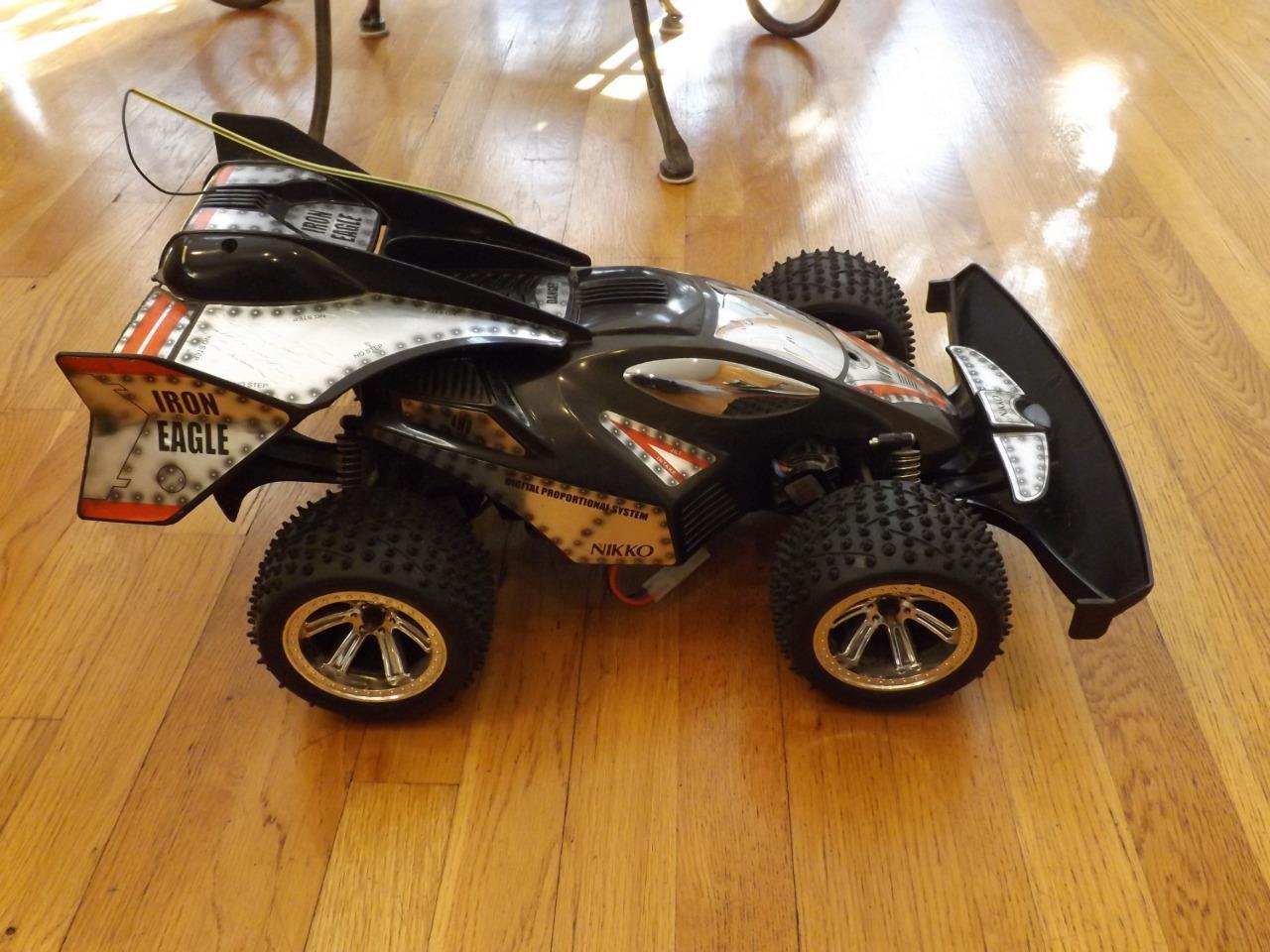 Nikko Iron Eagle 1 10 Scale Remote Control Car 4WD 7.2V Twin Motors