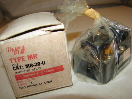 COOPER//CROUSE-HINDS//ARROW HART MR-20-U-20MR-20-U20 CONTROL COIL ***NIB***
