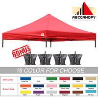 Ez Pop Up Canopy Replacement Top For 10 X 10 Caravan Tent 100% Waterproof