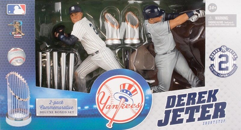 Derek Jeter Commemorative Action Figure 2-Pack