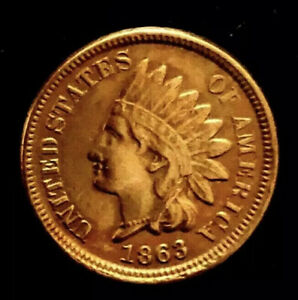 RPD-MAKE-A-129-OFFER-1863-863-INDIAN-HEAD-PENNY-RARE-DETAILS-DATE-PUNCHED-2