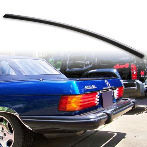 Fyralip Trunk Lip Spoiler For Mercedes Benz SL Class R107 71-89 Unpainted