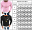 Men-Casual-Shirt-Slim-Fit-T-Shirt-Tee-Long-Sleeve-Muscle-Sport-Gym-Plain-Tops-US thumbnail 12