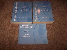 2010 Ford Ranger Pickup Truck Shop Service Repair Manual XL XLT Sport 2.3L 4.0L