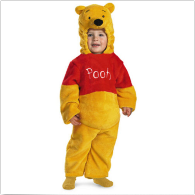 Tigger Deluxe Plush Child Boys Costume Jumpsuit Halloween Fancy Dress Disguise