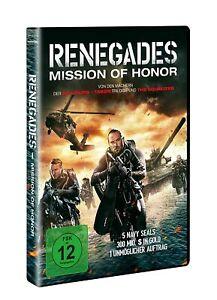 Renegades-missione of Honor [DVD/Nuovo/Scatola Originale] action di produttore Luc Besson