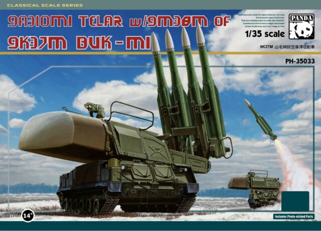 Panda Hobby PH35033 Sam-11 Buk (With Metal Tracklink) Model Kit