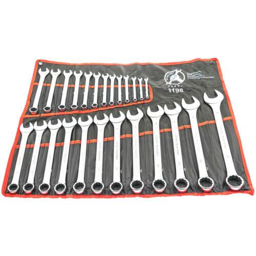 Ring Maulschlüssel Werkzeug Set Gabelschlüssel Maul Ringschlüssel Satz 25-tlg