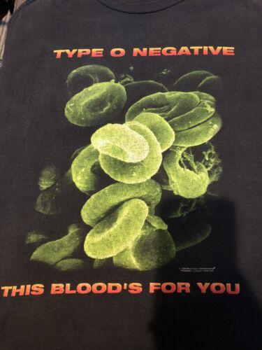 Type O Negative XLarge  XL Shirt Vintage Carnivore