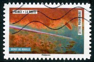Collection Ici France Autoadhesif Oblitere N° 1512 La Nature A L'oeuvre / Debut De Rouille Le Prix Reste Stable