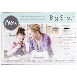 Sizzix Big Shot Machine-Gray & White