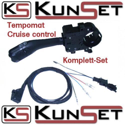 Original KunSet GRA Tempomat Wippe KOMPLETT SET Kabelbaum für Audi A3 8L TT 8N