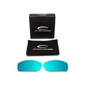 bf3aae6647 Detalles acerca de Optico de Repuesto Lentes Polarizadas Para Oakley  FIVESQUARED Gafas de sol del deporte Azul- mostrar título original